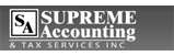 supreme accounting_black and white logo